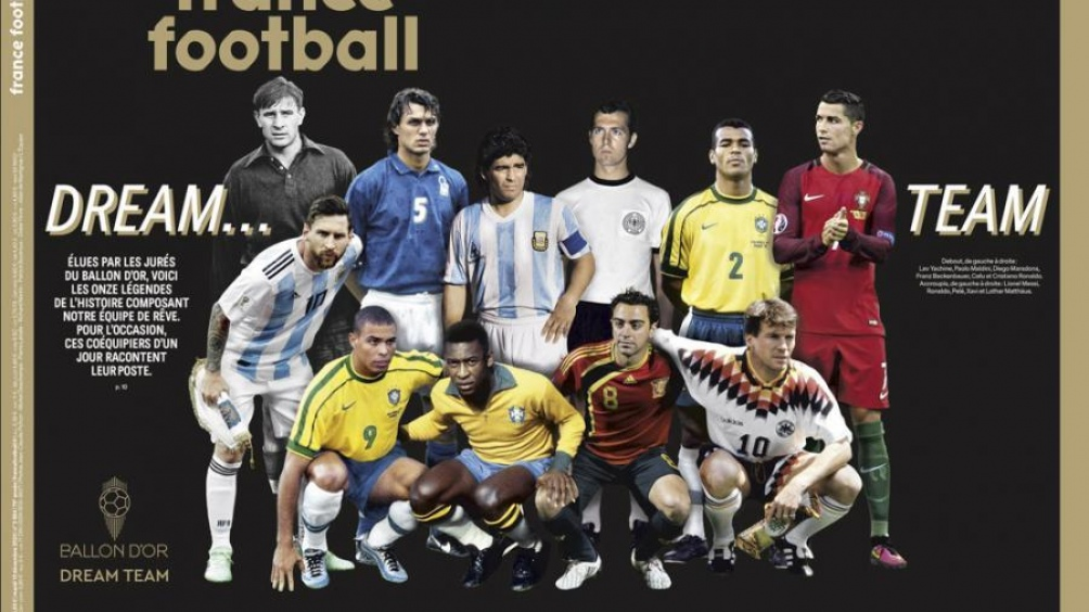 El equipo de los sueños, según France Football.
