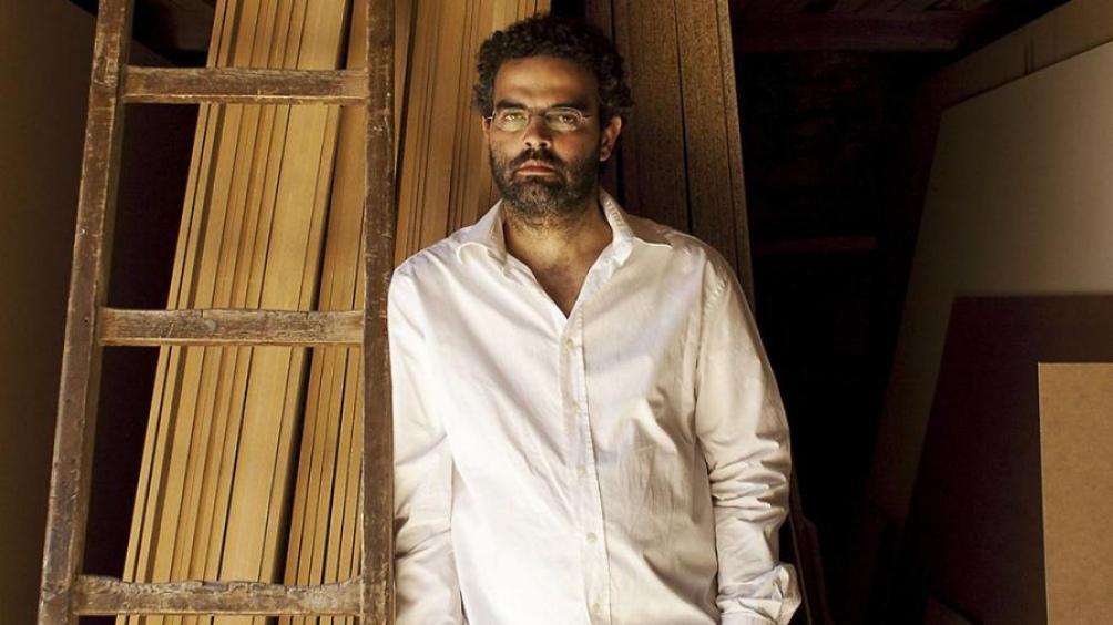 "Gonçalo Tavares, autor de ""Diario de la peste""."