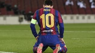 Messi fue expulsado en la derrota de Barcelona en la final de la Supercopa