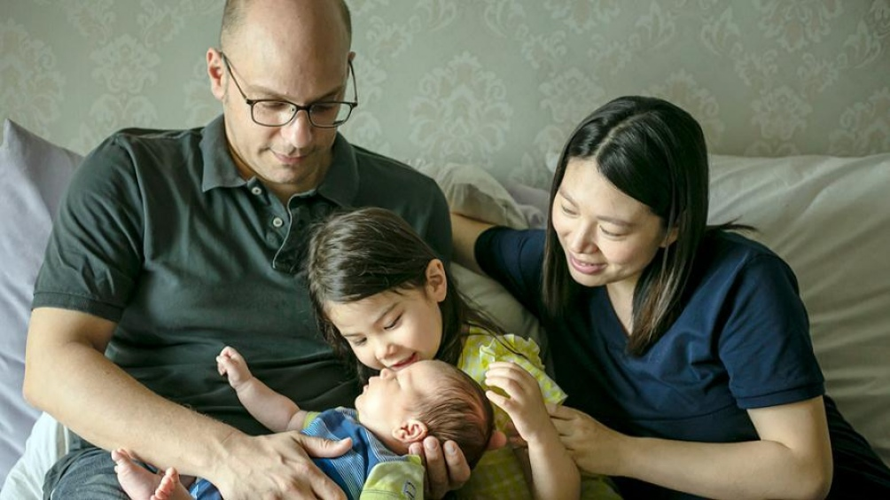 Javier Pérez reside junto a su esposa Joy Chen, su hija de 5 años y su hijo de 18 meses en Wuhan hace cuatro años y en China desde 2006.