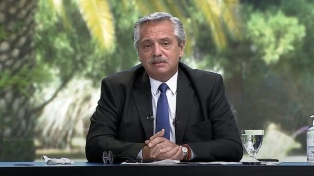 """Fernández invitó a Biden a """"cimentar una agenda de trabajo compartida"""""""