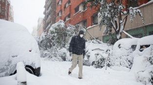 Madrid registró una histórica helada con una temperatura mínima récord de -10,8 ºC
