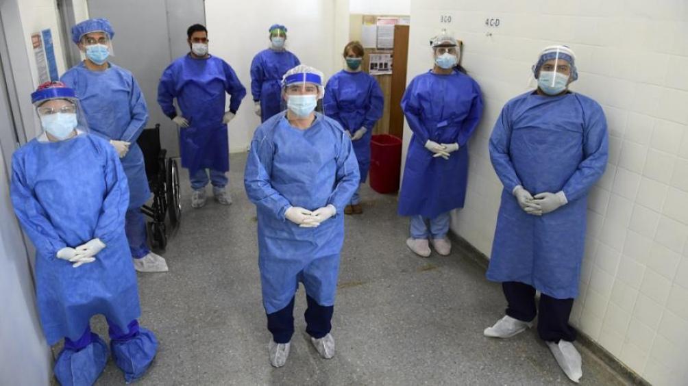 """""""En todo el personal de salud hay una sensación de miedo, de angustia y mucha preocupación por el aumento de los casos"""""""