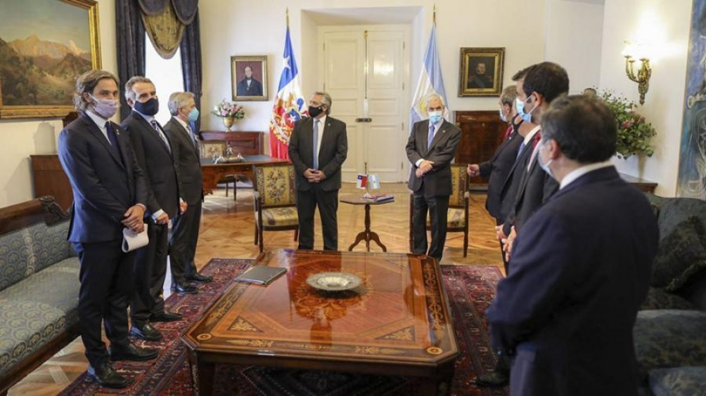 Los presidentes hicieron una declaración conjunta.
