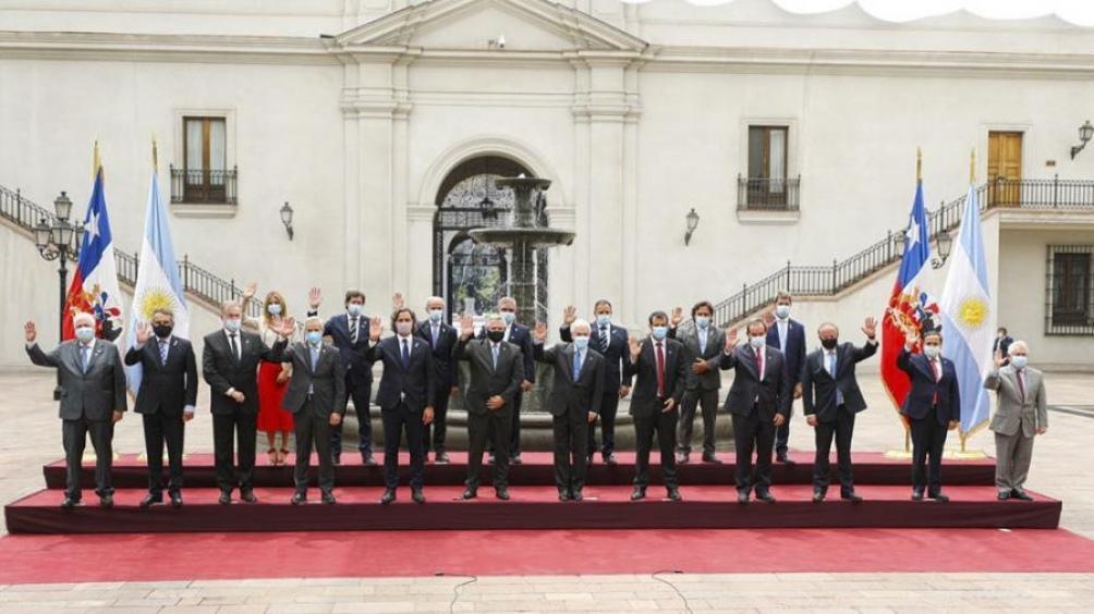 Los presidentes Fernández y Piñera firmaron acuerdos para reforzar la relación bilateral.