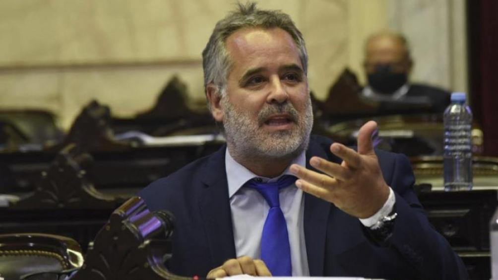 """Alejandro """"Topo"""" Rodríguez, el titular del interbloque."""