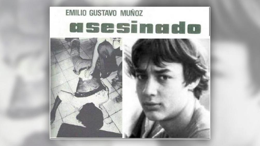 Uno de los carteles que reivindica la figura del joven asesinado en 1978.