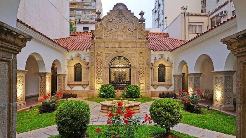 La casa de Ricardo Rojas, en la ciudad de Buenos Aires.