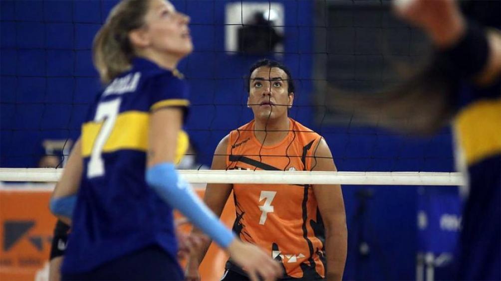 Maia Jasvir Romero, de CEF N 5 de La Rioja, la primera jugadora trans en participar de la Liga. Foto: Diego Luchini, prensa Boca.