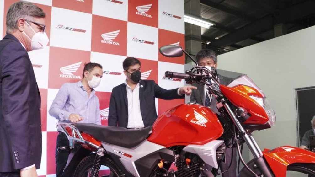 La nueva Honda GLH 150 se sumará a los otros cinco modelos que se producen en la planta.