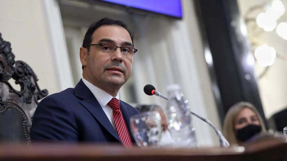 Gustavo Valdés, gobernador de Corrientes.