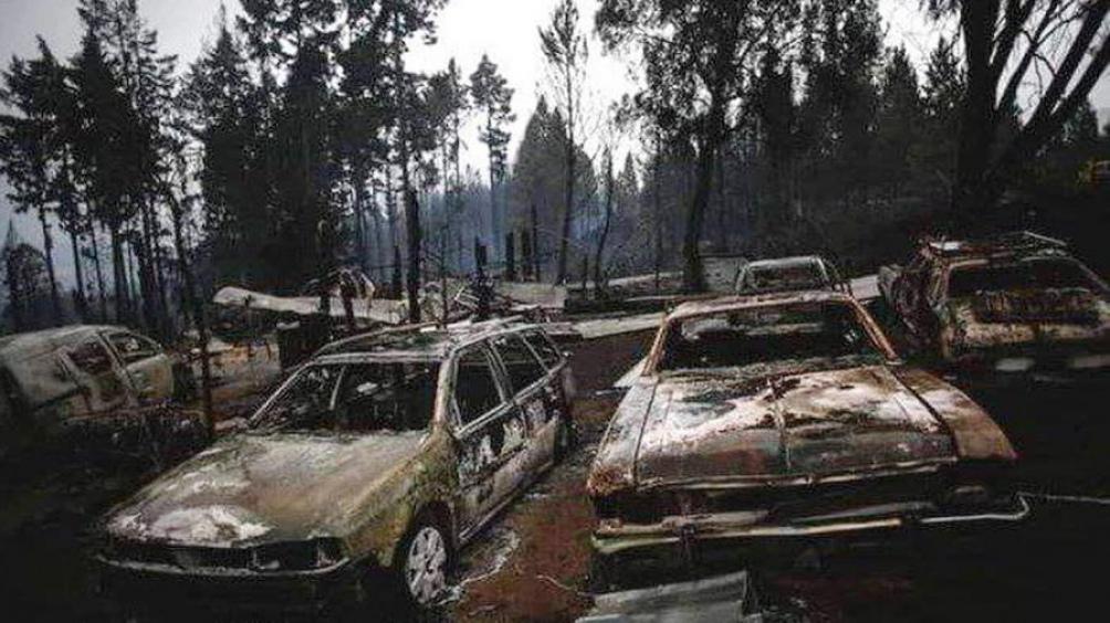 El hallazgo se produjo cerca del casco de estancia que queda a unos 15 kilómetros de la localidad de El Maitén