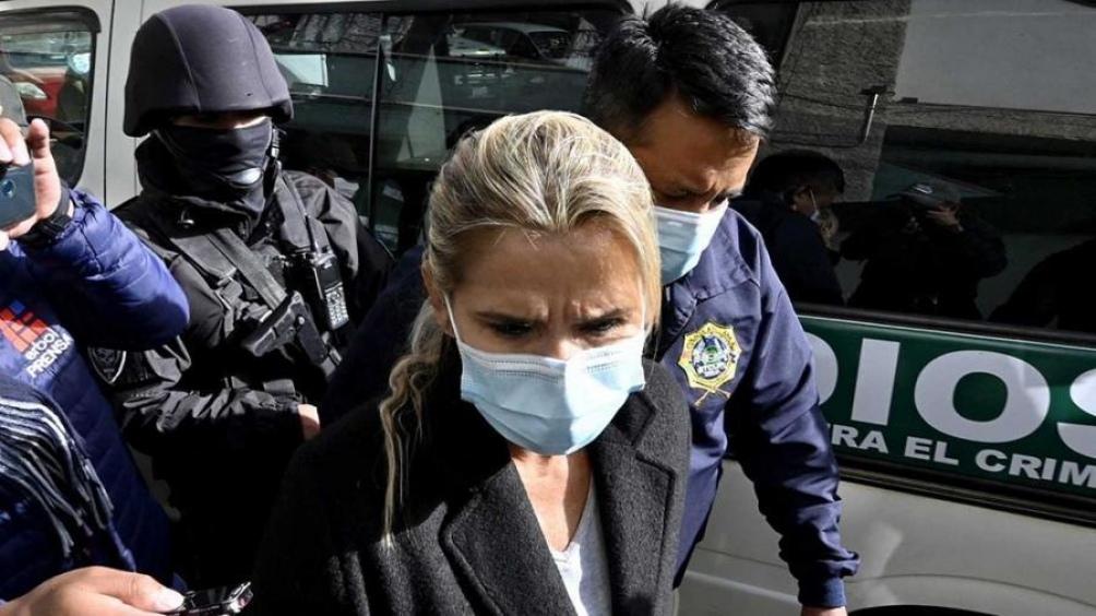 La expresidenta de facto Jeanine Añez se encuentra bajo proceso judicial por el golpe de Estado.