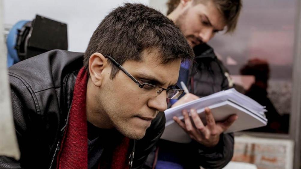Luciano Juncos y su segundo largometraje