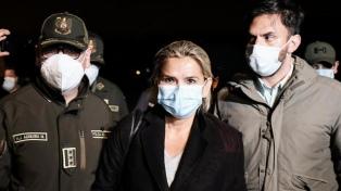 La expresidenta Áñez se negó a declarar en la causa por un préstamo del FMI