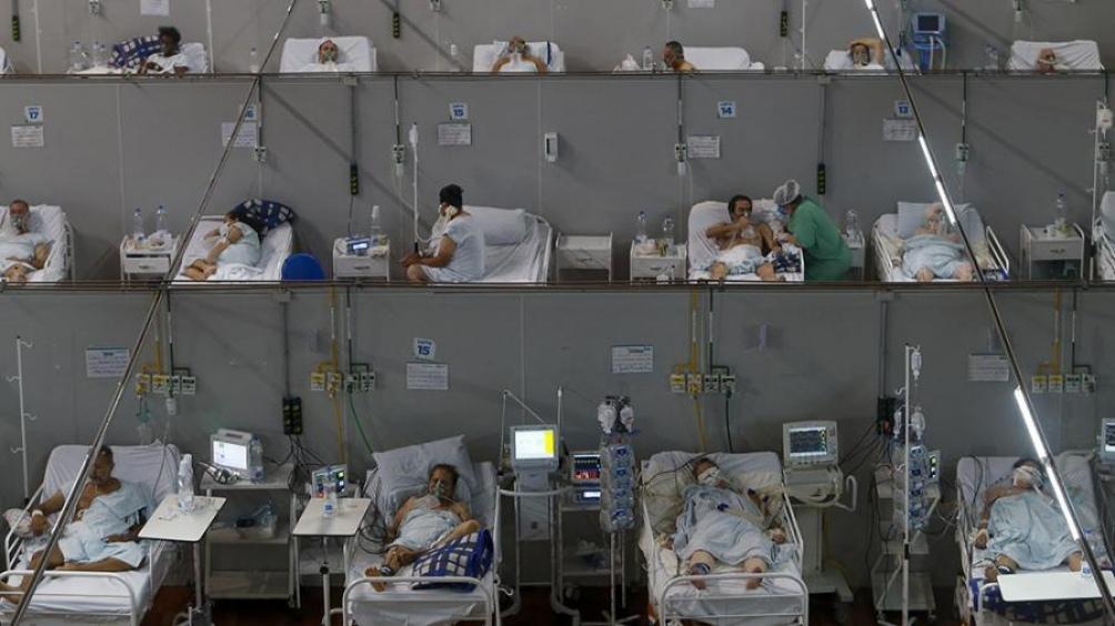 Brasil  vive su instancia más dura de la pandemia, con los hospitales saturados en buena parte del país. (Foto AFP)