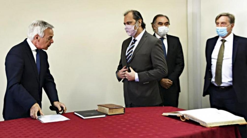 Boico juró como integrante de la sala segunda de la Cámara, que desde ahora queda integrada con Irurzun y Farah