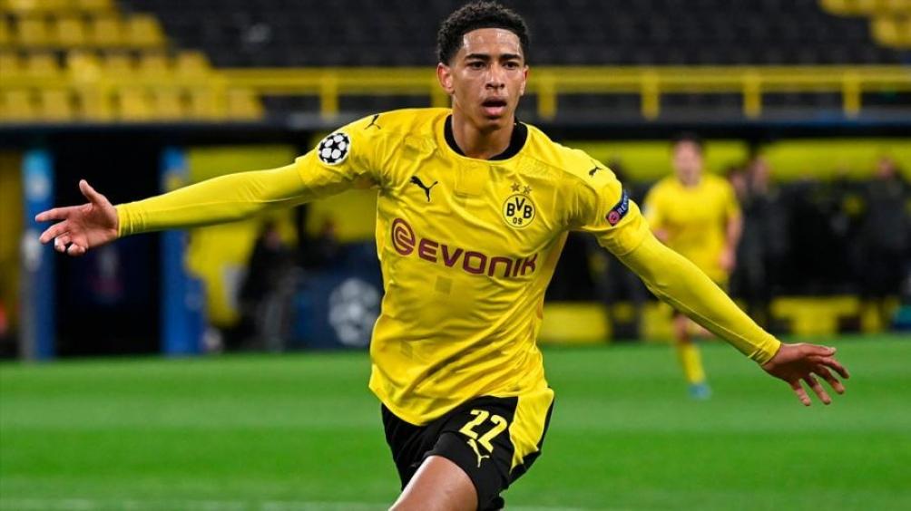Jude Bellingham, el goleador del Dortmund ante el City para igualar la serie global. Foto: @ChampionsLeague