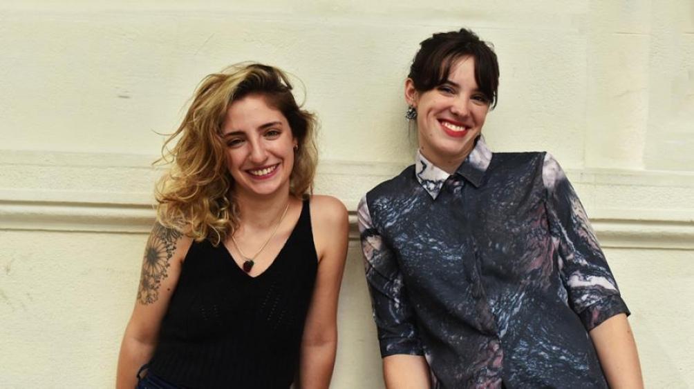 Tamara Talesnik y Olivia Gallo, las autoras.