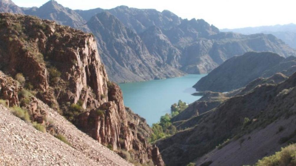 Cañón del Atuel, Mendoza.