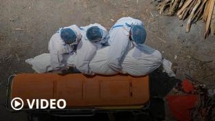 Sin camas ni oxígeno, con nueva cepa y récords de muertos, India se hunde en la segunda ola