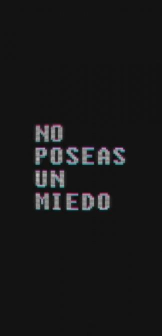 """Buonfrate creó el videopoema """"Noposeas1miedo""""."""