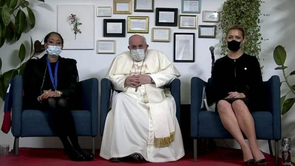 Las primeras damas compartieron con el Papa su testimonio sobre el trabajo desarrollado en conjunto.
