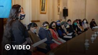 Cómo fue el histórico encuentro de las mujeres indígenas con ministras nacionales