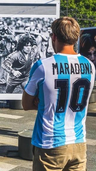 El afecto y la fascinación por Maradona en Serbia no tiene límites.