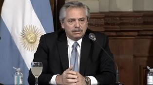 """Matrimonio igualitario: """"Desde ese 15 de julio, fuimos una mejor sociedad"""", dijo Fernández"""