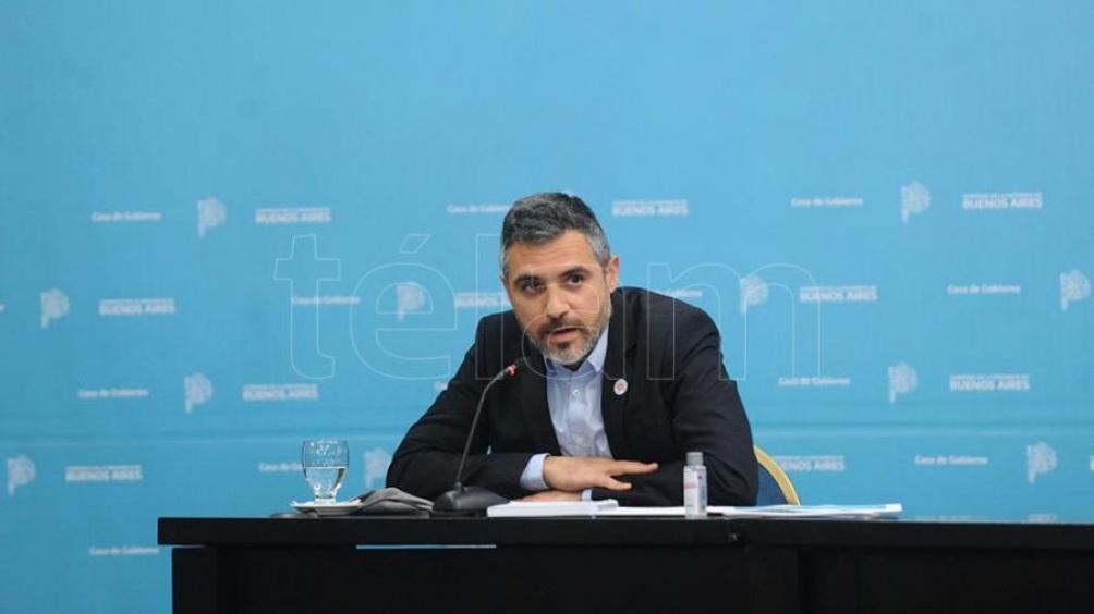 """Girard dijo que el nuevo régimen """"es central para Arba desde la lógica en la que encaramos la gestión"""". Foto Eva Cabrera."""