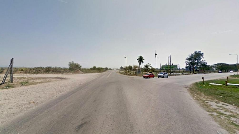 El operativo de Gendarmería se realizó en la ruta nacional 50, a la altura del kilómetro 17 (Captura de Street View)