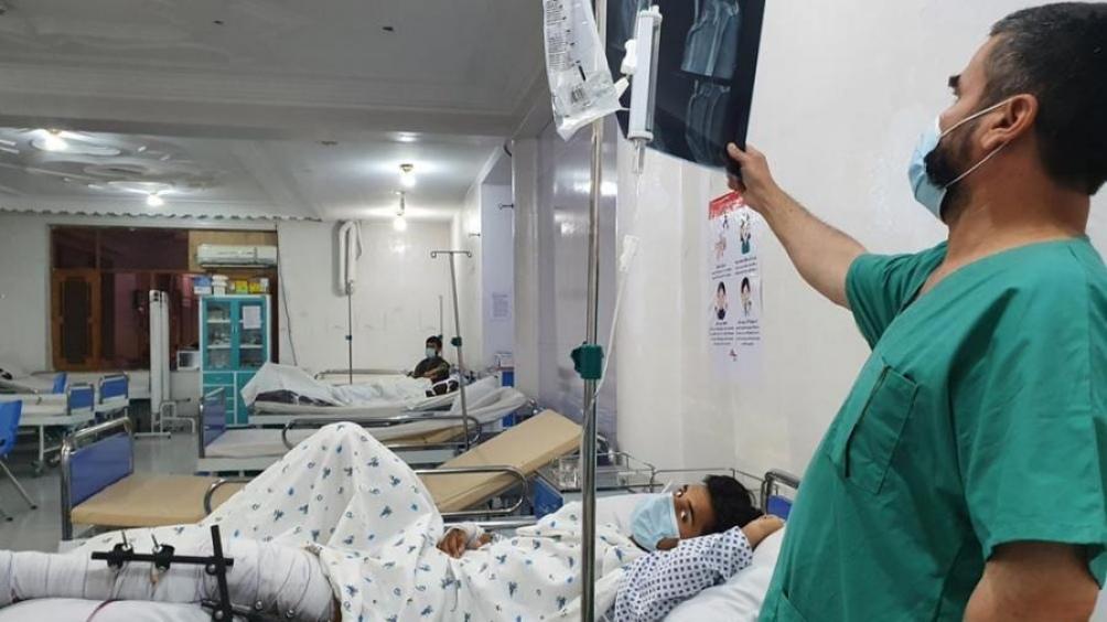 La prioridad de la OMS es garantiza la seguridad del personal humanitario (Foto AFP)