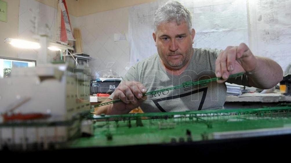 González ya hizo maquetas de siete excentros clandestinos de la provincia de Buenos Aires.