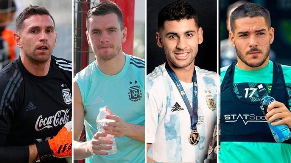 Emiliano Martínez, Giovani Lo Celso, Cristian Romero y Emiliano Buendía los jugadores involucrados en el escándalo en Brasil.
