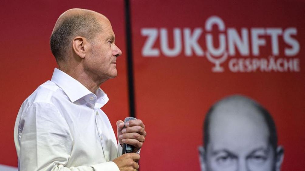 Olaf Scholz, actual ministro de Finanzas y vicecanciller. Foto: AFP