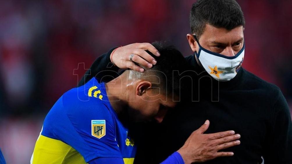 Battaglia y Boca sufrieron la derrota en el Superclásico y las estadísticas dejaron al descubierto datos certeros. Foto: Alejandro Santa Cruz